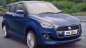 2017 Maruti Swift blue rendered