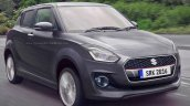 2017 Maruti Swift grey rendered