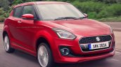 2017 Maruti Swift red rendered