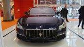 2017 Maserati Quattroporte front at 2016 Bologna Motor Show