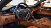2017 Maserati Quattroporte interior at 2016 Bologna Motor Show