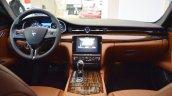 2017 Maserati Quattroporte interior dashboard at 2016 Bologna Motor Show