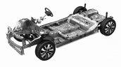 2017 Suzuki Swift chassis