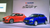 2017 Suzuki Swift front three quarters Japan launch event
