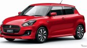 2017 Suzuki Swift red front three quarters