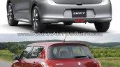 2017 Suzuki Swift vs 2010 Suzuki Swift - Old vs New