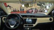 2017 Toyota Corolla (facelift) dashboard in Oman