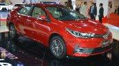 2017 Toyota Corolla (facelift) front three quarter in Oman