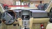 2017 Toyota Land Cruiser TRD dashboard in Oman