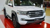 2017 Toyota Land Cruiser TRD front quarter in Oman