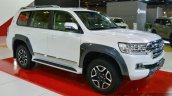2017 Toyota Land Cruiser TRD front three quarter in Oman