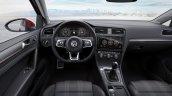 2017 VW Golf GTI (facelift) dashboard