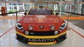 Abarth 124 Rally front at 2016 Bologna Motor Show