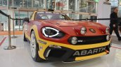 Abarth 124 Rally front three quarters right side at 2016 Bologna Motor Show