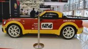 Abarth 124 Rally left side at 2016 Bologna Motor Show