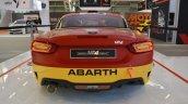 Abarth 124 Rally rear at 2016 Bologna Motor Show
