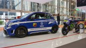 Abarth 695 Biposto YFR special edition left side at 2016 Bologna Auto Show