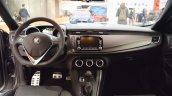 Alfa Romeo Giulietta Veloce interior dashboard at 2016 Bologna Motor Show