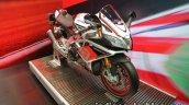 Aprilia RSV4 RF front three quarter at Thai Motor Expo