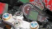 Aprilia RSV4 RF instrumentation at Thai Motor Expo