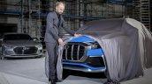 Audi Q8 concept front fascia teaser image