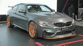 BMW M4 GTS Coupe at front three quarters right side 2016 Thai Motor Expo