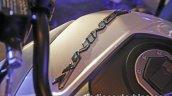 Bajaj Dominar 400 live badging on fuel tank
