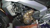 Bajaj Dominar 400 live engine and radiator