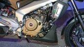 Bajaj Dominar 400 live frame and engine