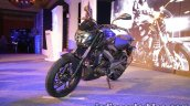 Bajaj Dominar 400 live front three quarter