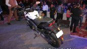 Bajaj Dominar 400 live rear three quarter left
