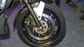 Bajaj Dominar 400 live white front wheel
