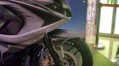 2017 Bajaj Pulsar RS200 grey front fairing