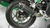Benelli Tornado 302 rear wheel at Thai Motor Expo
