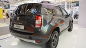 Dacia Duster Black Shadow rear three quarters at 2016 Bologna Motor Show