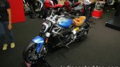 Ducati XDiavel customised front three quarter left at Thai Motor Expo