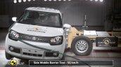 Euro Maruti Ignis side impact NCAP