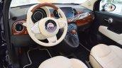 Fiat 500 Riva interior at 2016 Bologna Motor Show