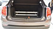 Fiat 500X Mopar boot close view at 2016 Bologna Motor Show