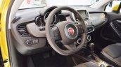 Fiat 500X interior at 2016 Bologna Motor Show