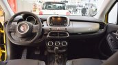 Fiat 500X interior dashboard at 2016 Bologna Motor Show