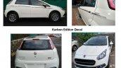 Fiat Punto Karbon exterior