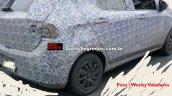 Fiat X6H rear quarter spied testing