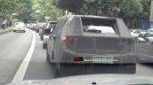 Fiat X6H front end spyshot