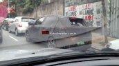 Fiat X6H rear three quarter spyshot