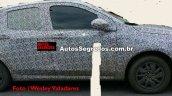 Fiat X6H side spied testing