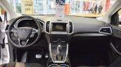 Ford Edge Sport interior dashboard at 2016 Bologna Motor Show