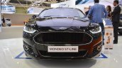 Ford Mondeo ST-Line front at 2016 Bologna Motor Show