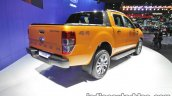 Ford Ranger Wildtrak rear three quarters at 2016 Thai Motor Expo