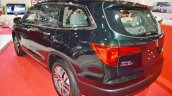 Honda Pilot rear three quarters at 2016 Oman Motor Show
